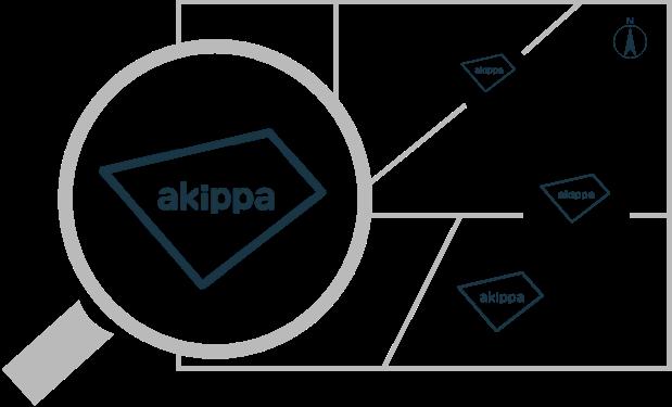akippaのロゴです