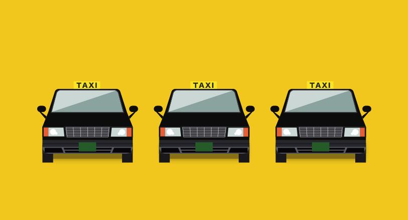 タクシー会社様の場合